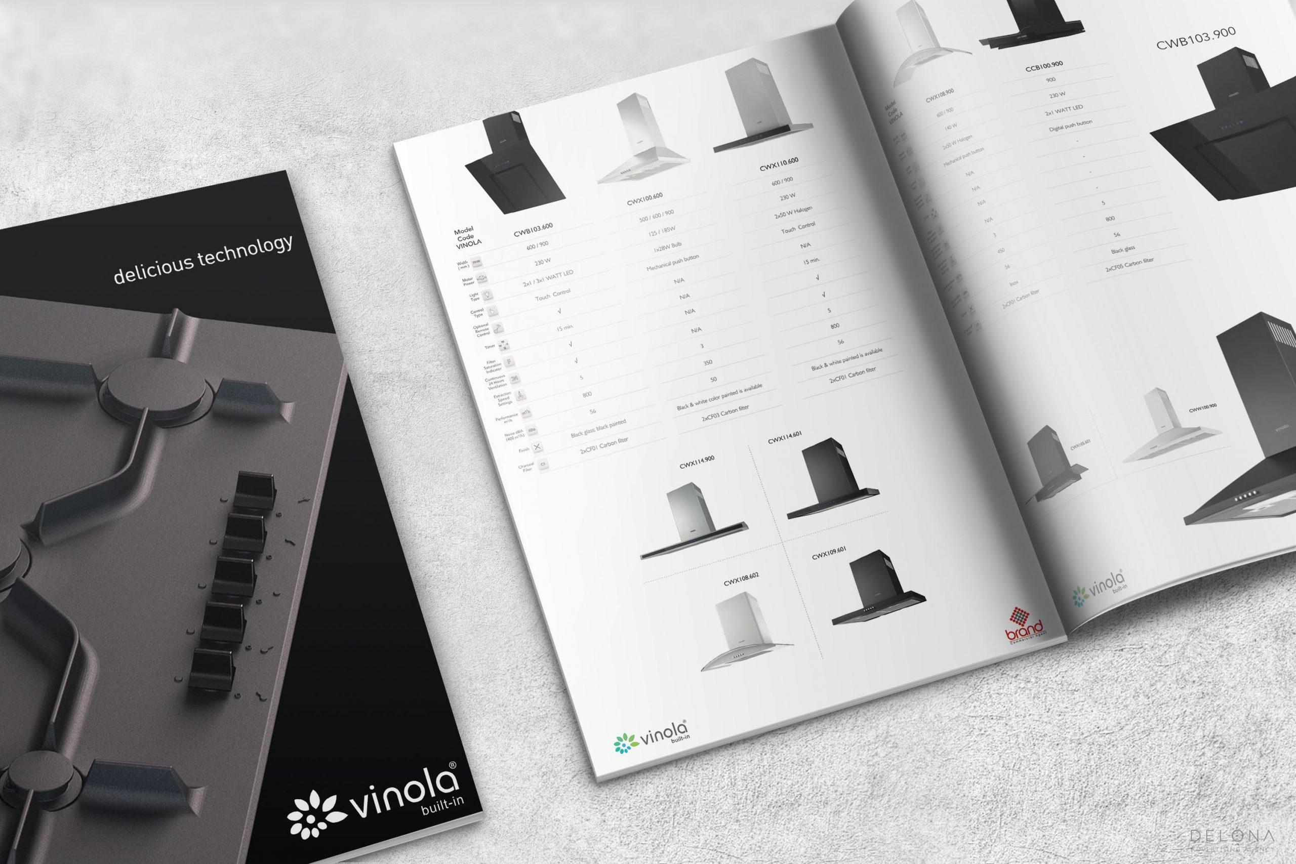 Vinola Product Catalog