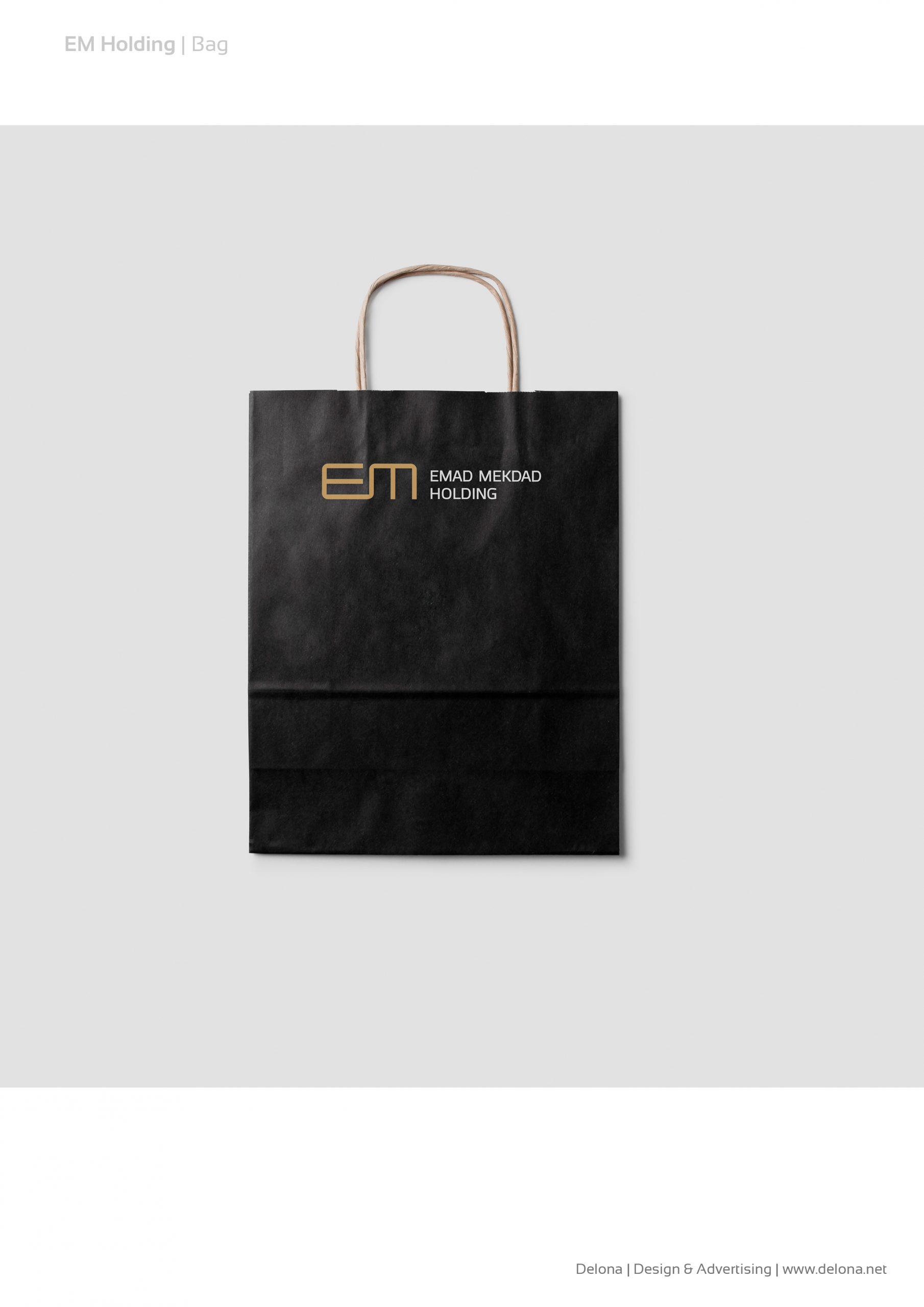 EM Holding – Stationary branding